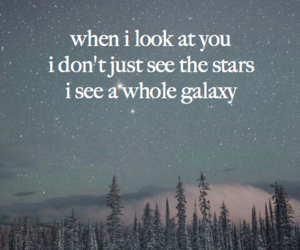 nature, stars, and words image