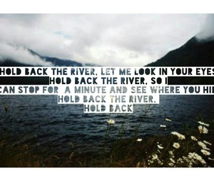 james bay, music, and river image