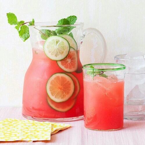 drink, ice cream, and lemonade image