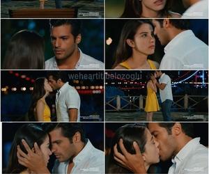 love, oyku ve ayaz, and kiss image