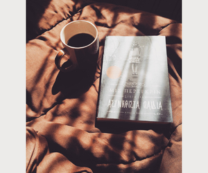 book, coffee, and sun image