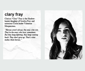 tmi, clary, and themortalinstruments image