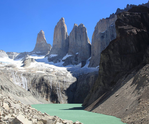 chile and torres del paine image