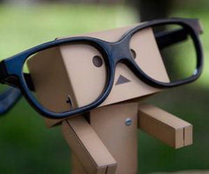 funny, glasses, and cute image