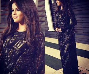 selena gomez, dress, and oscar image