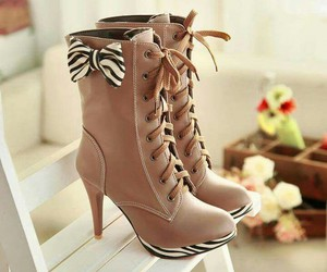 boots, stylish, and brown image