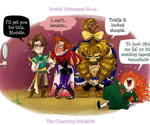 disney, merida, and pocket princesses image