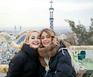 tini stoessel and mechi lambre image