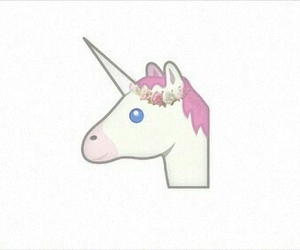 am, i, and unicorn image