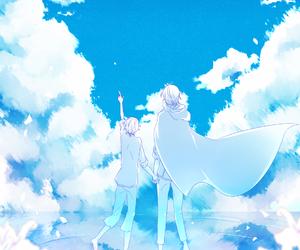 kawaii, anime edits, and scenery image