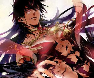 anime, magi, and Sinbad image