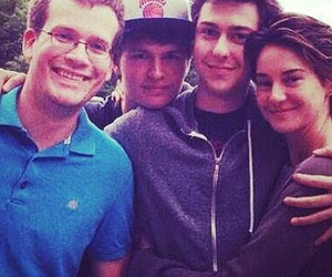 john green, Shailene Woodley, and insurgent image