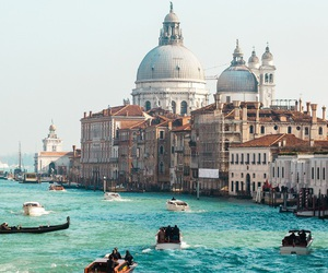 travel, venice, and italy image
