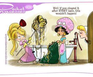 disney, rapunzel, and jasmine image