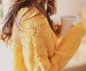 girl, fashion, and sweater image