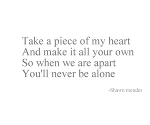 shawn mendes, song, and never be alone image