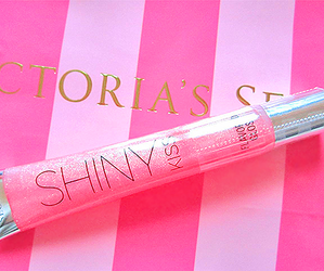 pink, shiny, and Victoria's Secret image