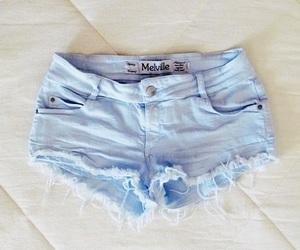 shorts, fashion, and blue image