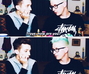 lol, troye sivan, and troyler image