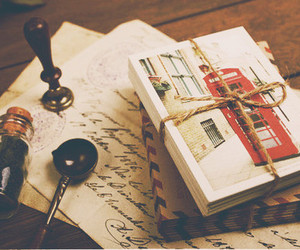 vintage, letters, and london image