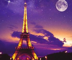 moon and paris image