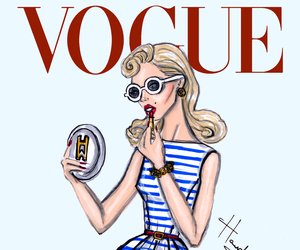 vogue, hayden williams, and dress image