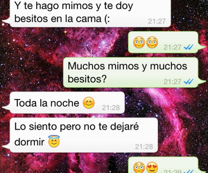 conversation, espanol, and kiss image