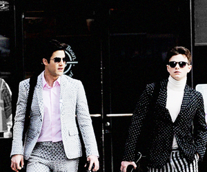 glee, darren criss, and chris colfer image