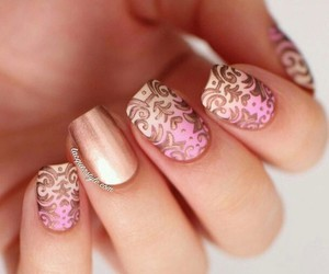 beauty, nails art, and nail art image