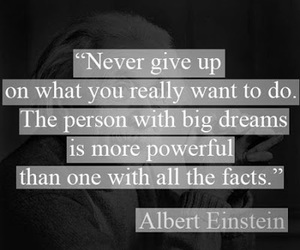 quotes, Dream, and Albert Einstein image