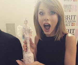Taylor Swift, brit awards, and awards image