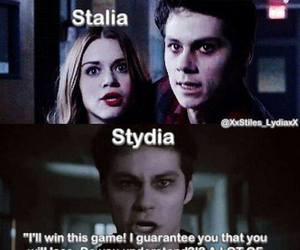 stydia, teen wolf, and lydia martin image
