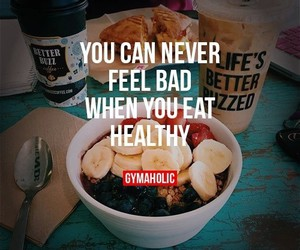 healthy, food, and feel good image