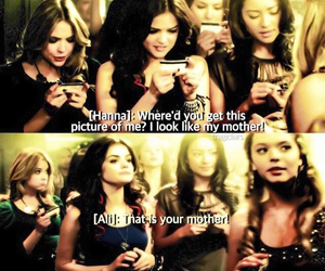 funny, lucy hale, and troian bellisario image