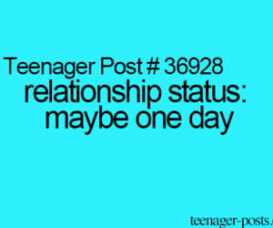 Relationship and teenager post image
