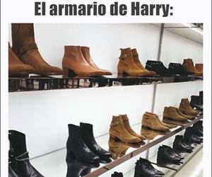 diva, zapatos, and closet harry image