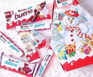 chocolate, food, and kinder image