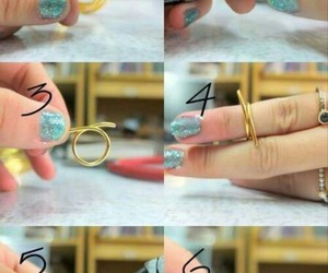 diy, ring, and tutorial image