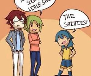 funny, inazuma eleven, and kariya image