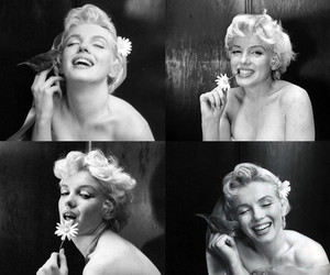 black and white, Marilyn Monroe, and vintage image
