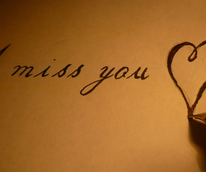 love, i miss you, and heart image