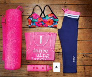 clothes, fitness, and yoga image