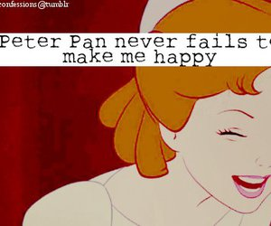 happy, peter pan, and smile image