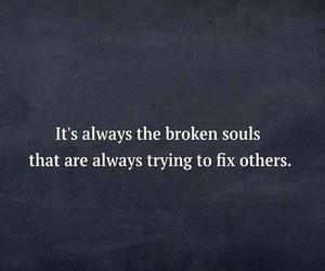 broken, sad, and soul image