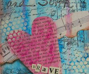 brave, journal, and braveheart image