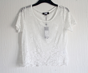 fashion, lace, and white image
