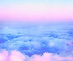 clouds, fashion, and wallpaper image