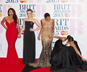 red carpet, brit awards, and little mix image
