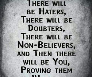 be strong, haters, and sexy image