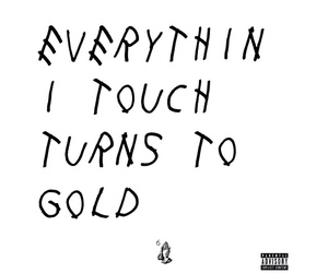 Drake, quote, and gold image